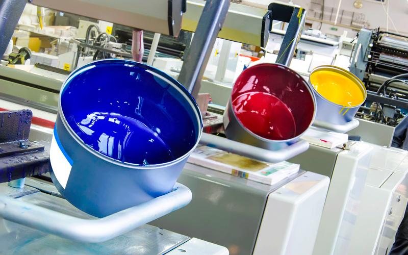 Imprenta Arenas Getxo Bilbao offset printing press